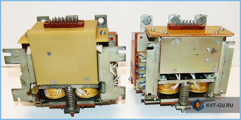 Контакторы вакуумные КВТ-1,14 с хранения с высокой и низкой панелями