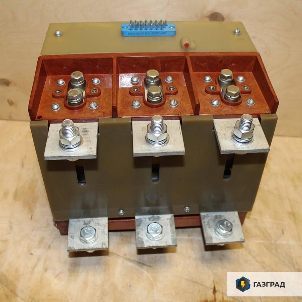 Вакуумный контактор КВТ 630А