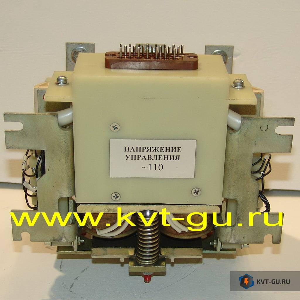 Контактор вакуумный КВТ-1,14-2.5/160-У3-1-Ш информация КВ-1